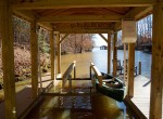 covered boat lift