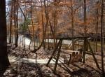 swingset path to dock