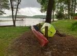 394 lake and canoe